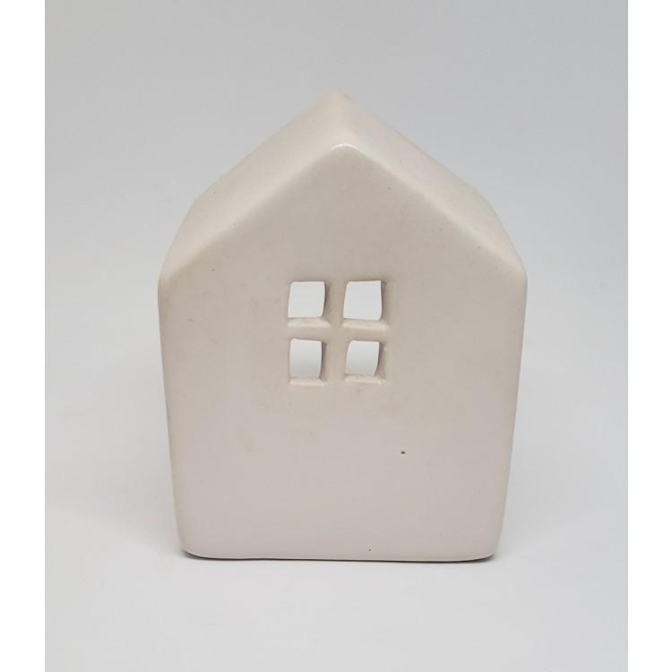 Porta velas casinha branca - Imagem: 1
