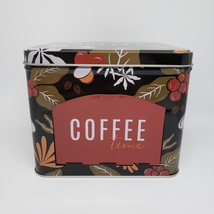 Lata porta cápsulas café - Imagem: 1