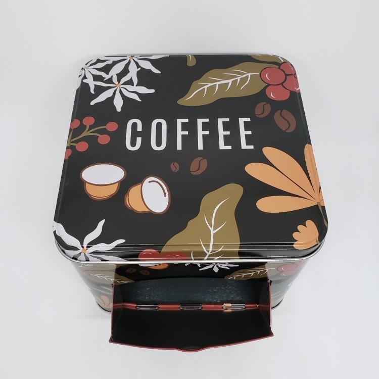 Lata porta cápsulas café - Imagem: 3