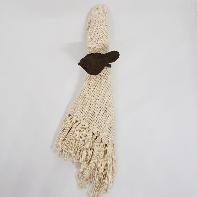 Argola marrom pássaro - Imagem: 2