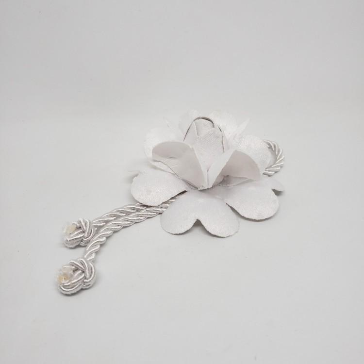 Porta-guardanapo flor branca - Imagem: 1