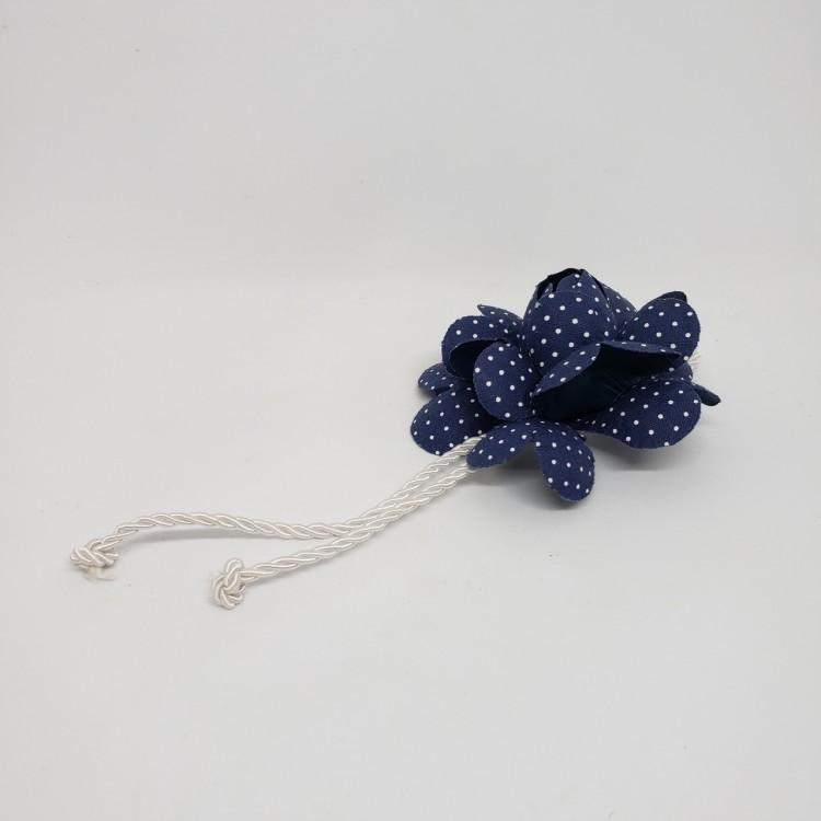 Porta-guardanapo flor azul II - Imagem: 1
