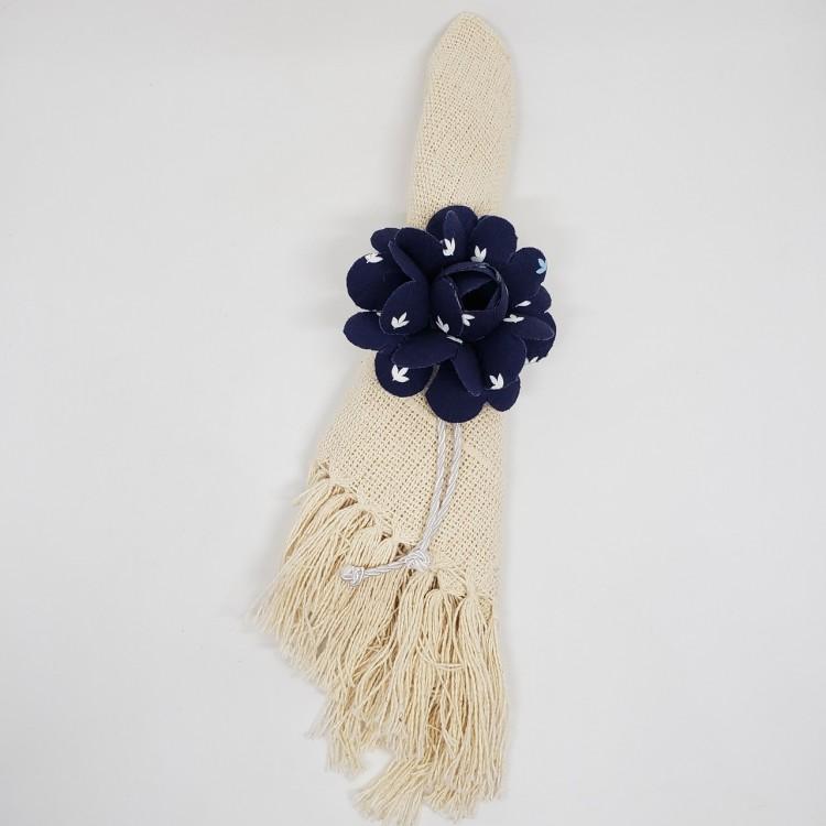 Porta-guardanapo flor azul I - Imagem: 2