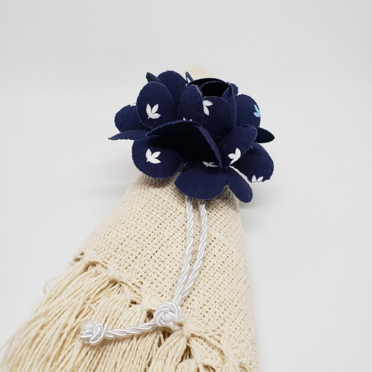 Porta-guardanapo flor azul I - Imagem: 4