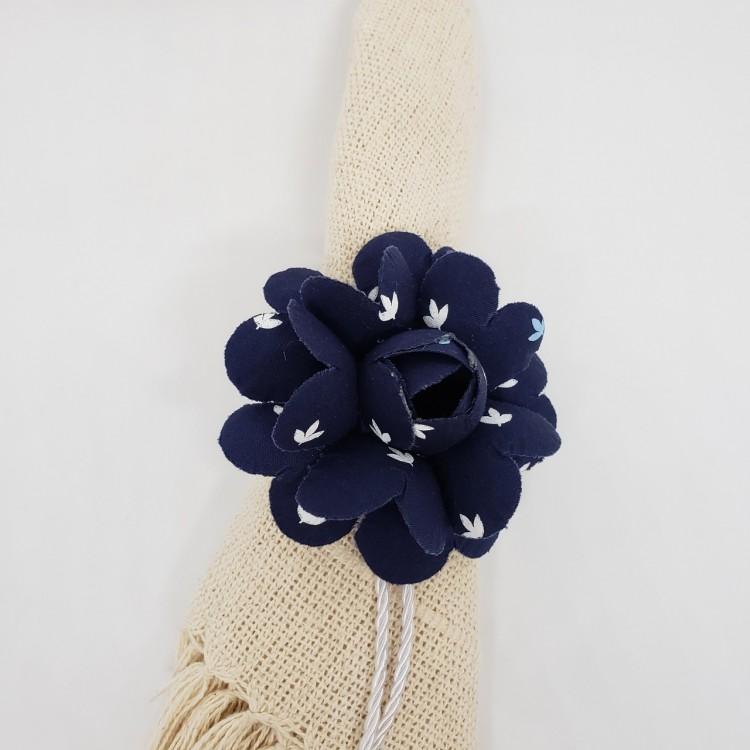 Porta-guardanapo flor azul I - Imagem: 3