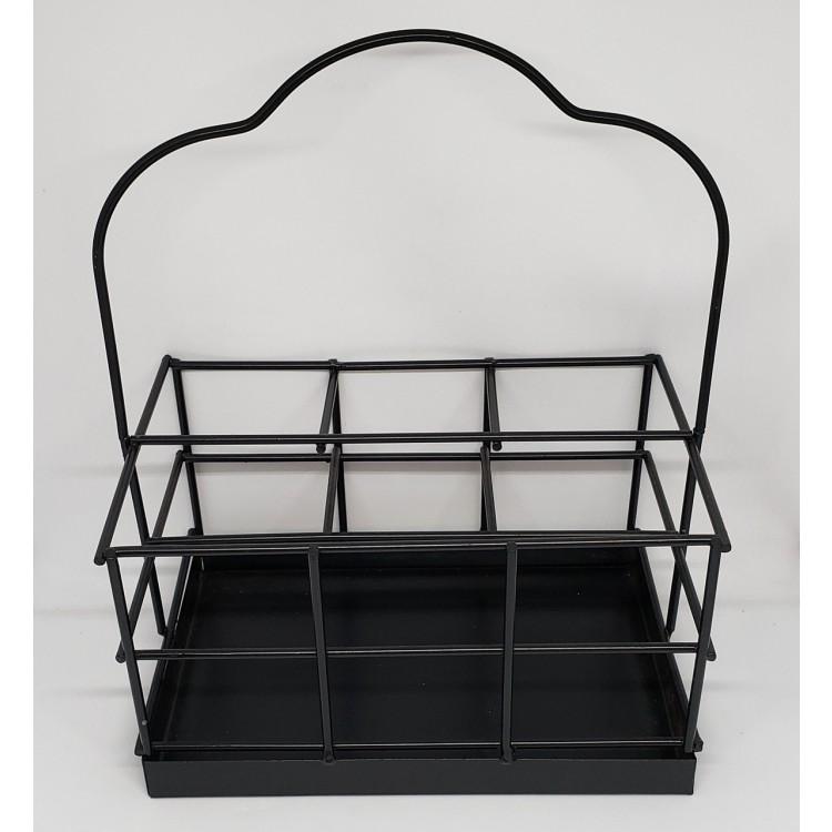 Porta talheres e guardanapos preto - Imagem: 2