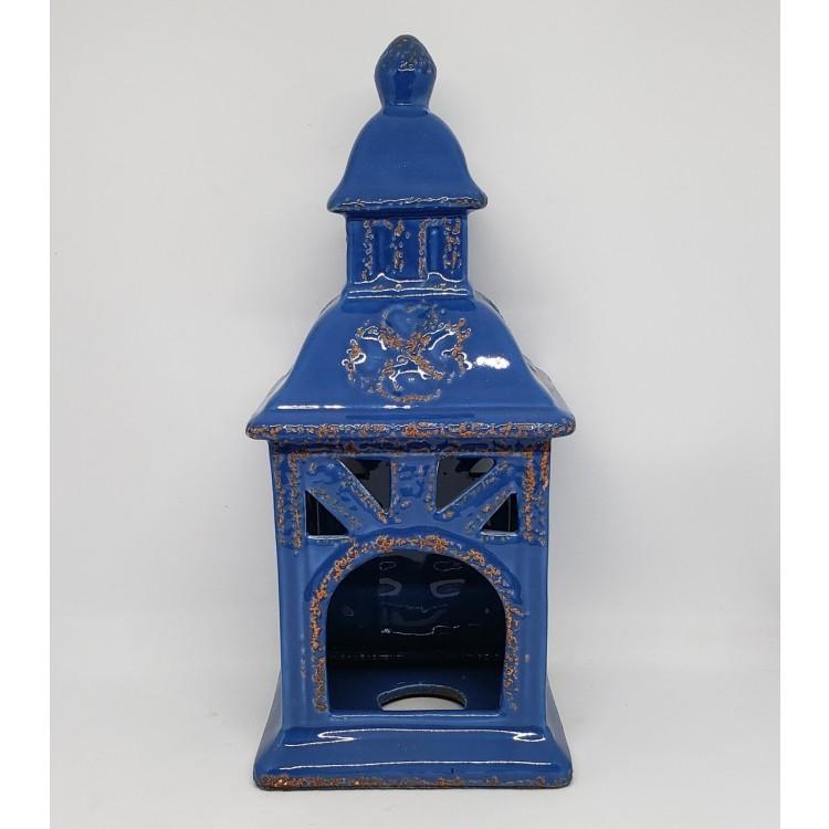 Gaiola azul pequena - Imagem: 1