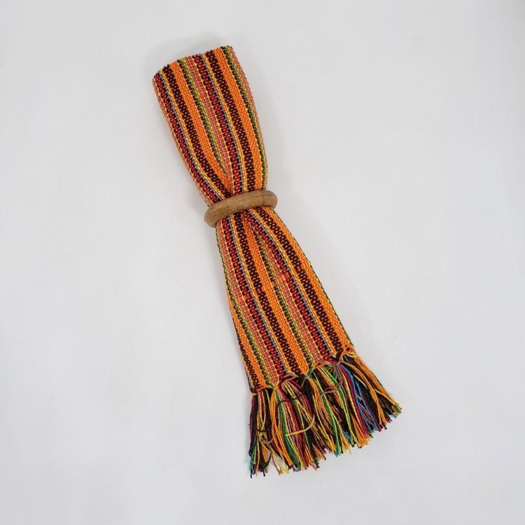 Guardanapo listrado laranja - Imagem: 2