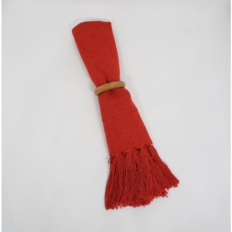 Guardanapo liso vermelho - Imagem: 2