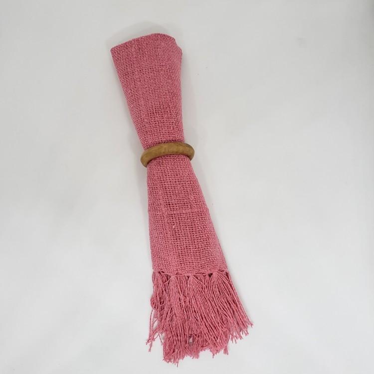 Guardanapo liso rosa antigo - Imagem: 2
