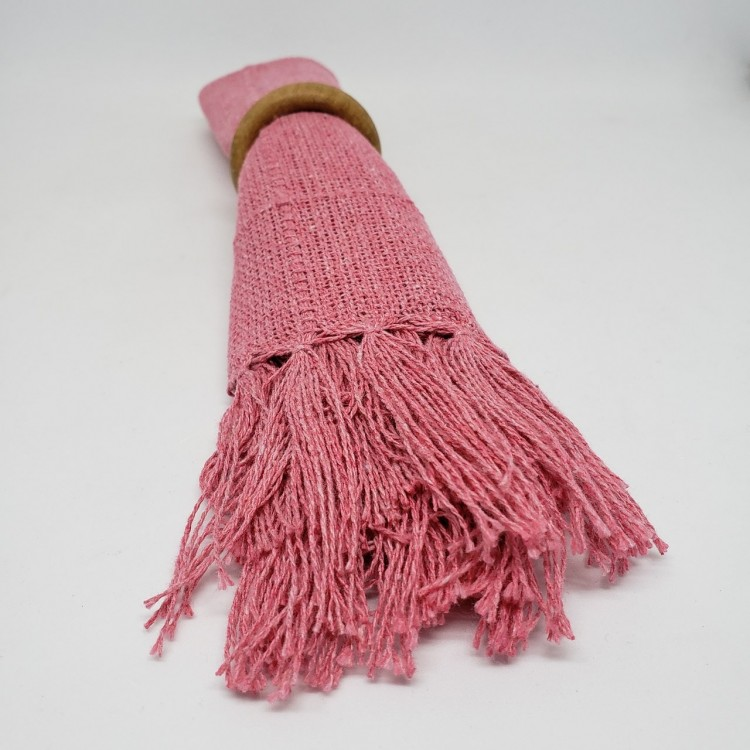 Guardanapo liso rosa antigo - Imagem: 3