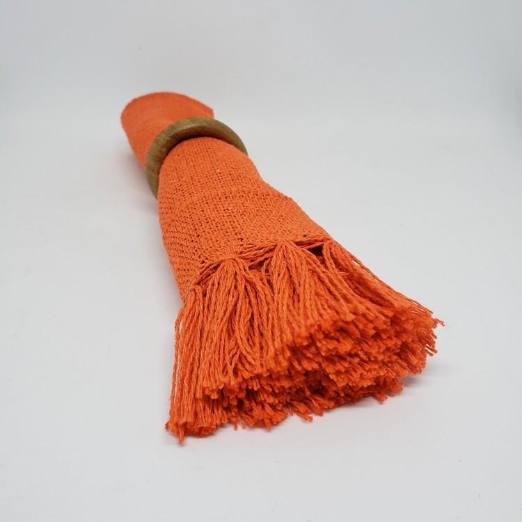 Guardanapo liso laranja - Imagem: 3