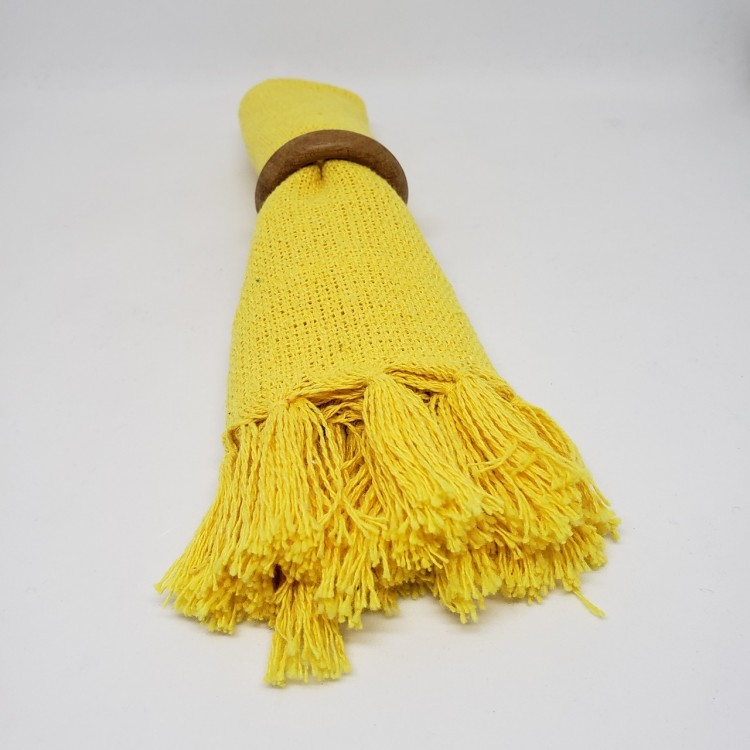 Guardanapo liso amarelo abacaxi - Imagem: 3