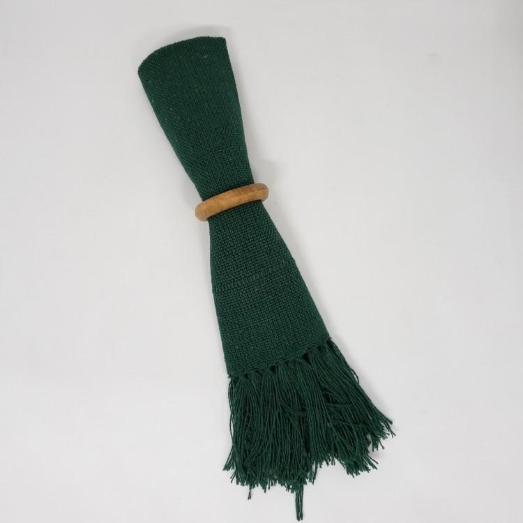 Guardanapo liso verde musgo - Imagem: 2