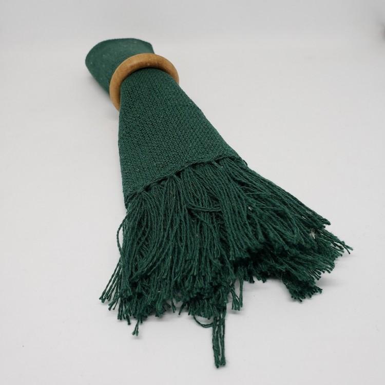 Guardanapo liso verde musgo - Imagem: 3