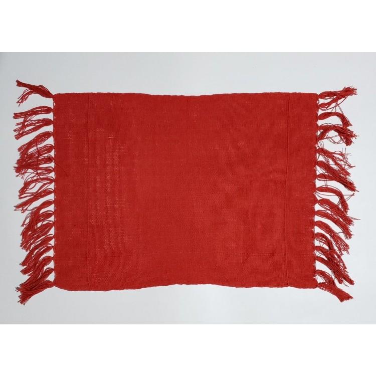 Guardanapo liso vermelho - Imagem: 1