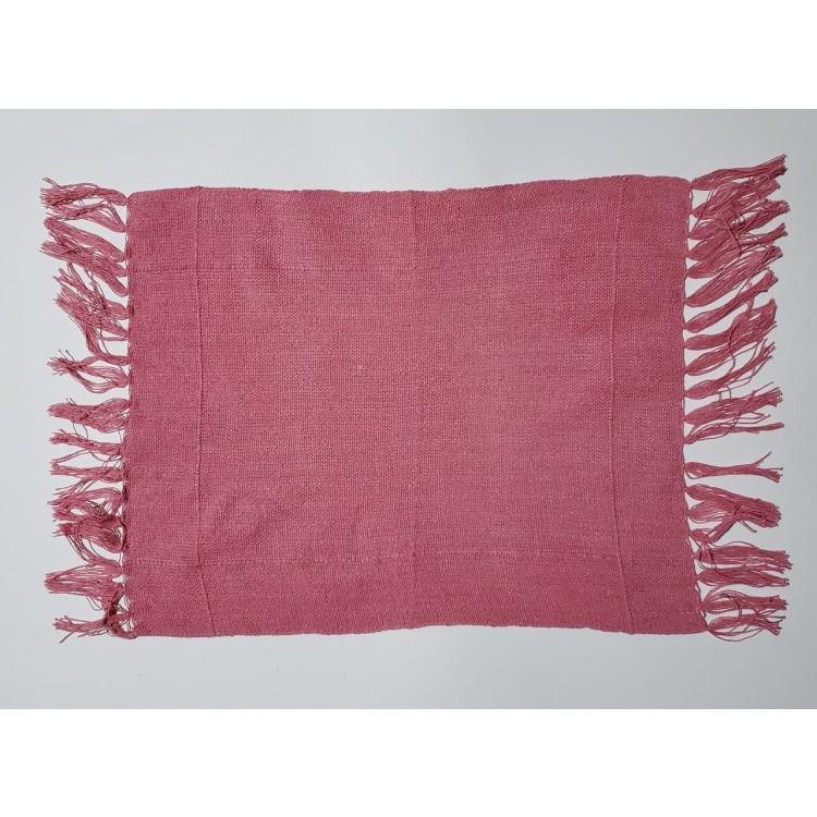 Guardanapo liso rosa antigo - Imagem: 1
