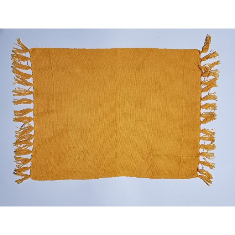 Guardanapo liso amarelo ouro - Imagem: 1