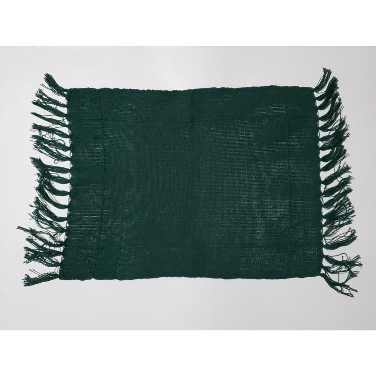 Guardanapo liso verde musgo - Imagem: 1