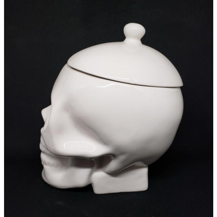 Porta treco caveira branca - Imagem: 3
