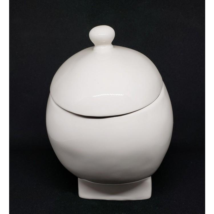 Porta treco caveira branca - Imagem: 4