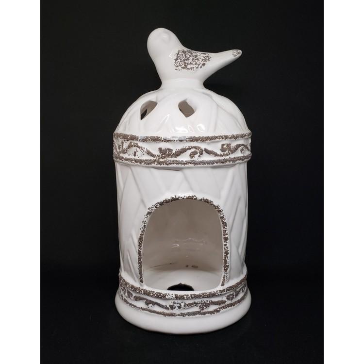 Luminária gaiola branca - Imagem: 1