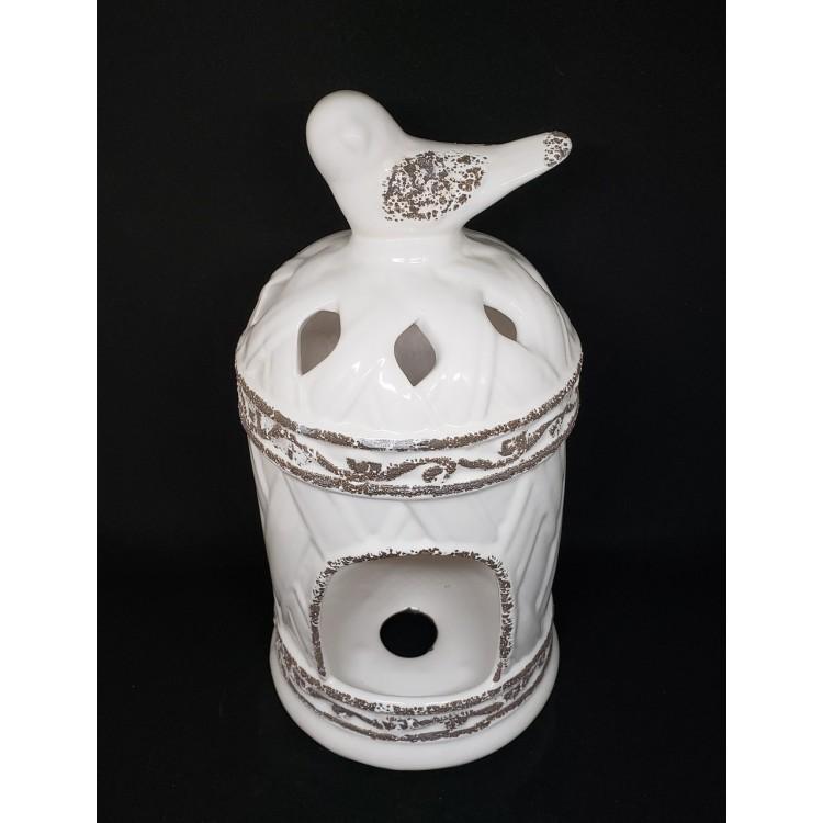 Luminária gaiola branca - Imagem: 2