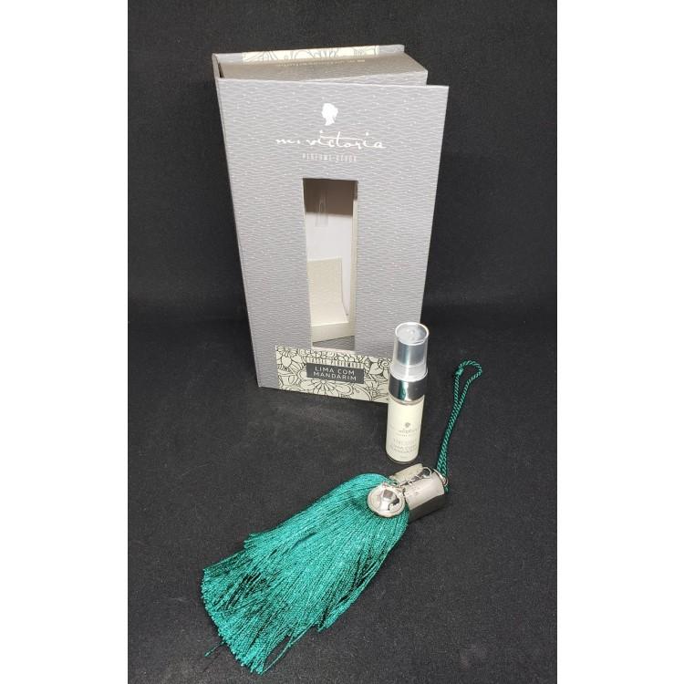 Tassel perfumado verde lima com mandarim - Imagem: 1