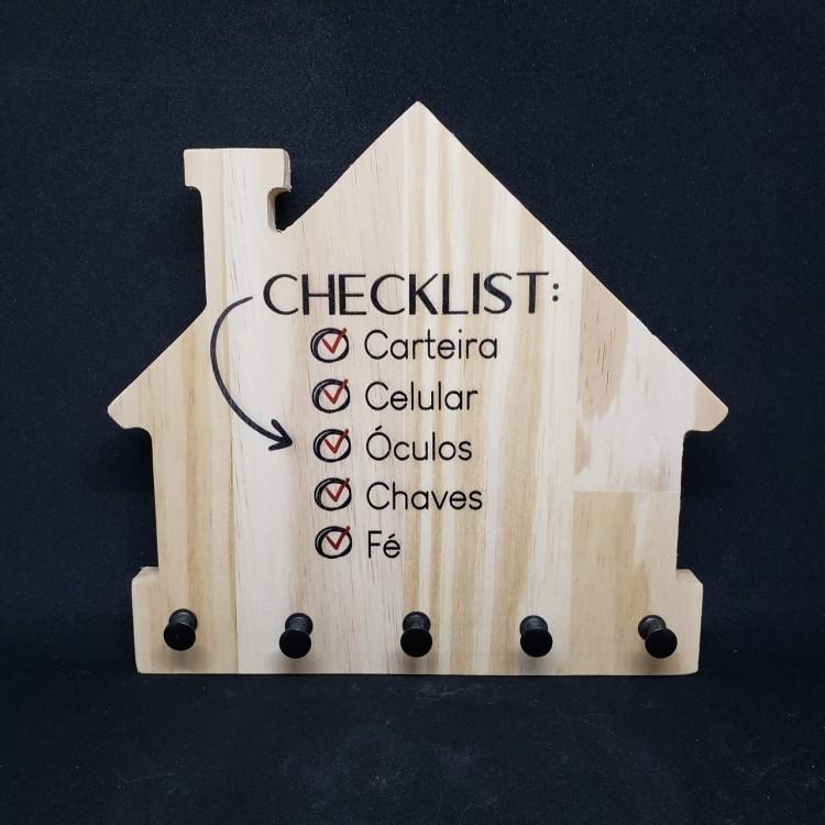 Porta chaves checklist - Imagem: 1
