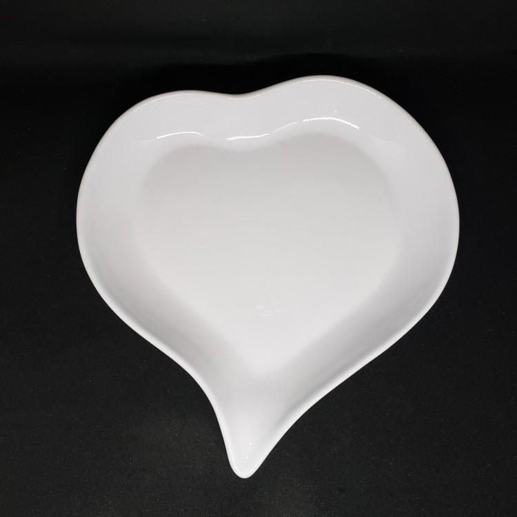 Prato coração grande - Imagem: 1