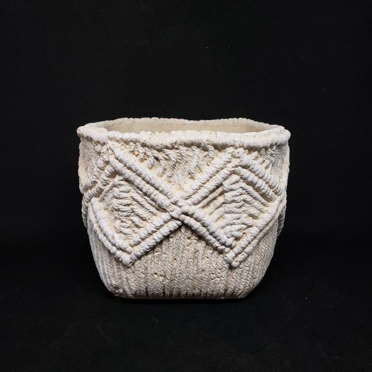 Cachepot em cimento II - Imagem: 1