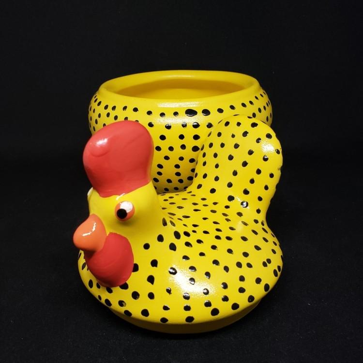 Pote galinha amarela - Imagem: 4