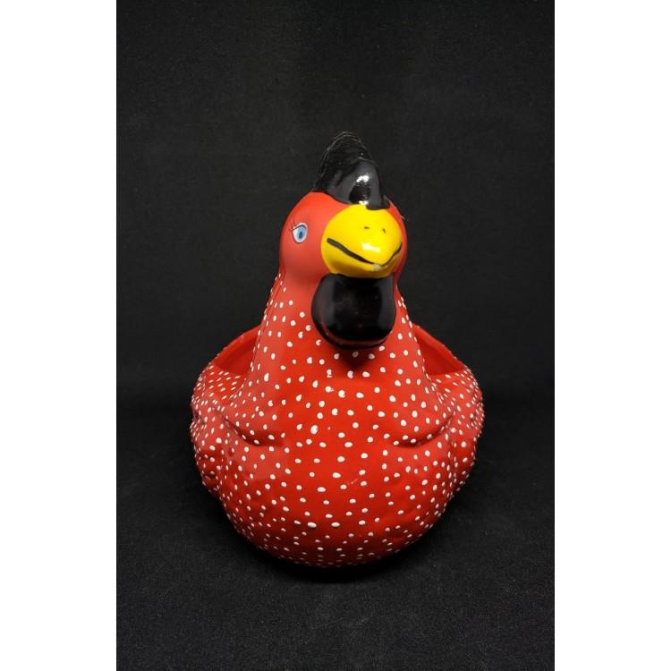 Porta ovos galinha vermelha - Imagem: 2