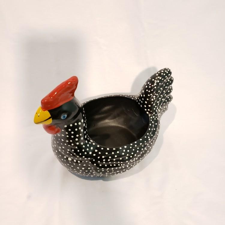 Porta ovos galinha preta - Imagem: 4