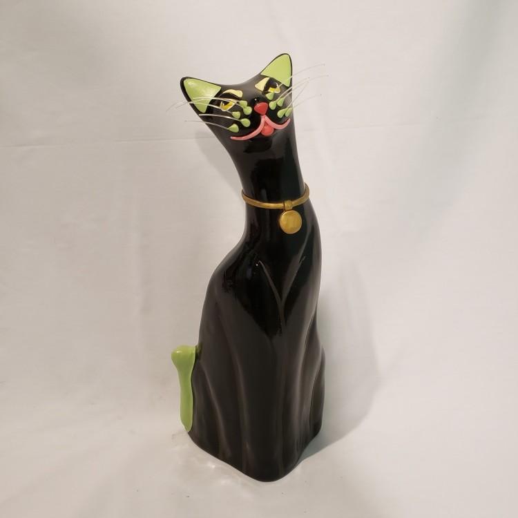Gato decorativo preto - Imagem: 1
