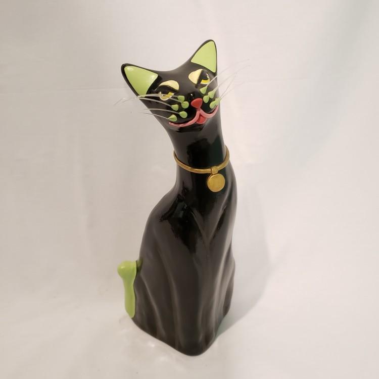 Gato decorativo preto - Imagem: 2