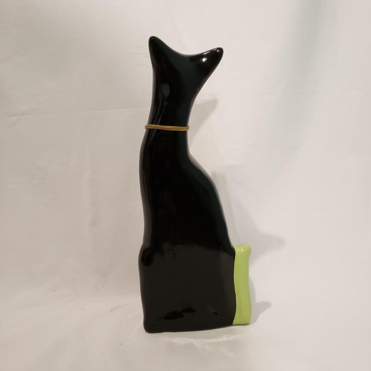 Gato decorativo preto - Imagem: 3