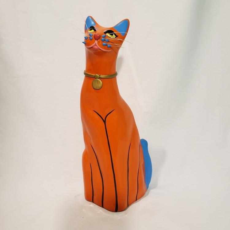 Gato decorativo laranja - Imagem: 1