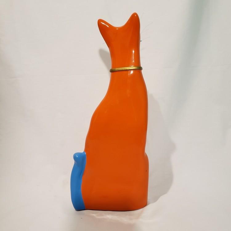 Gato decorativo laranja - Imagem: 3