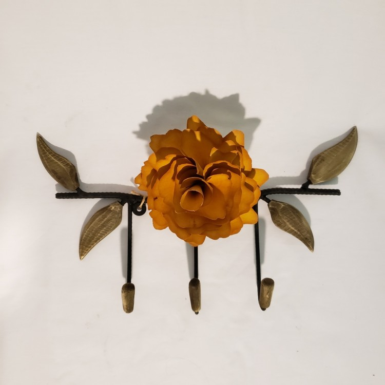 Cabide flor amarela - Imagem: 1