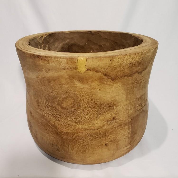 Cachepot em madeira - Imagem: 1