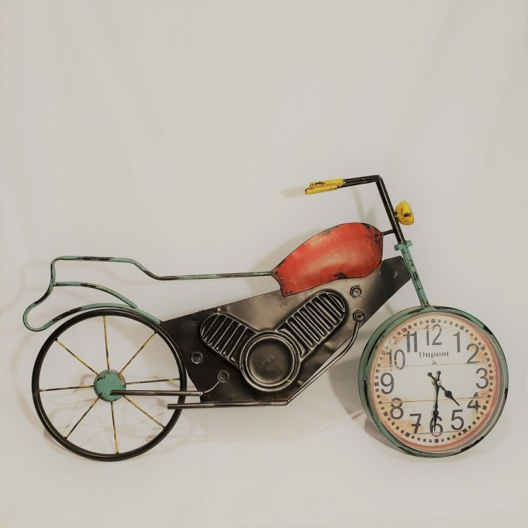 Relógio moto decorativa - Imagem: 1