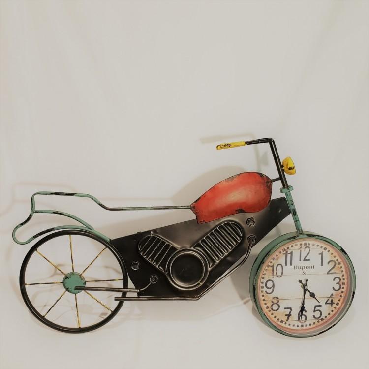 Relógio moto decorativa - Imagem: 2