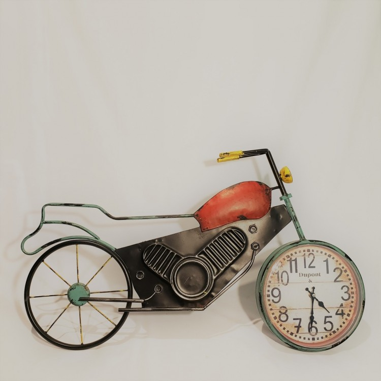 Relógio moto decorativa - Imagem: 3