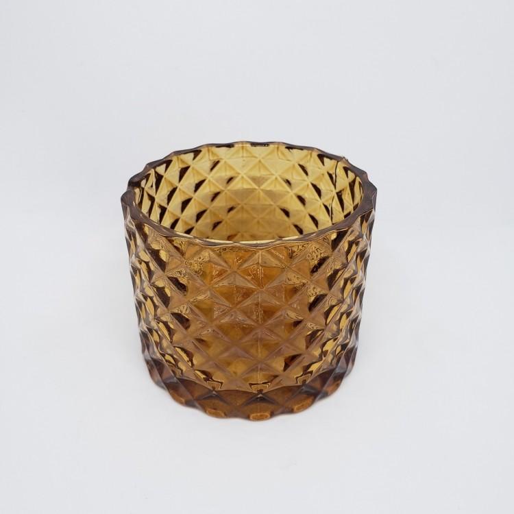 Porta velas âmbar V - Imagem: 1