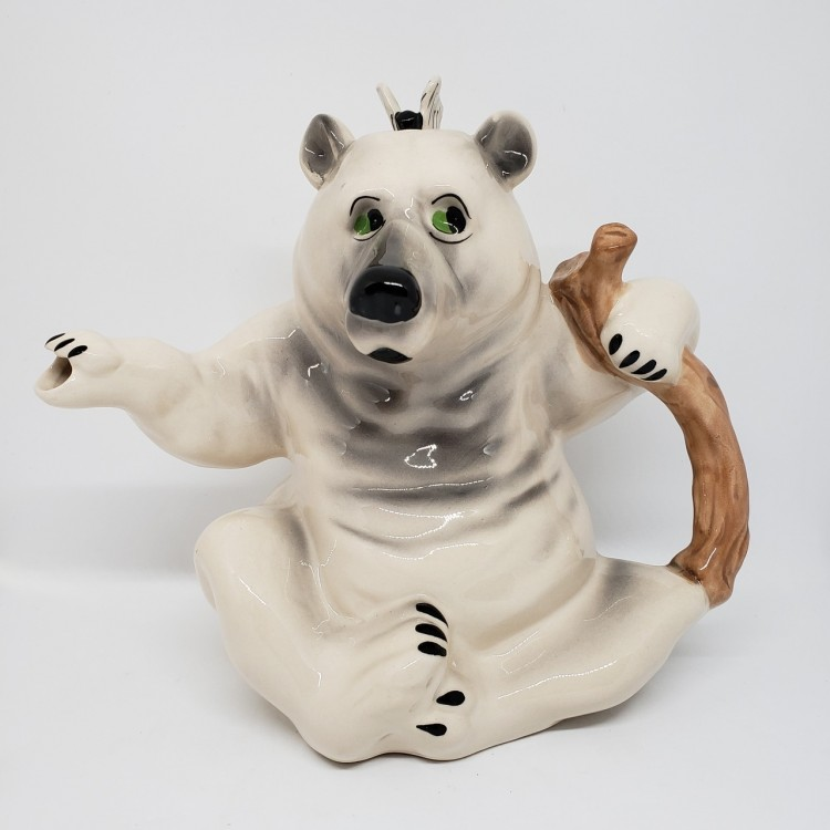 Bule chá urso branco - Imagem: 1