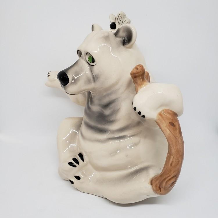 Bule chá urso branco - Imagem: 3