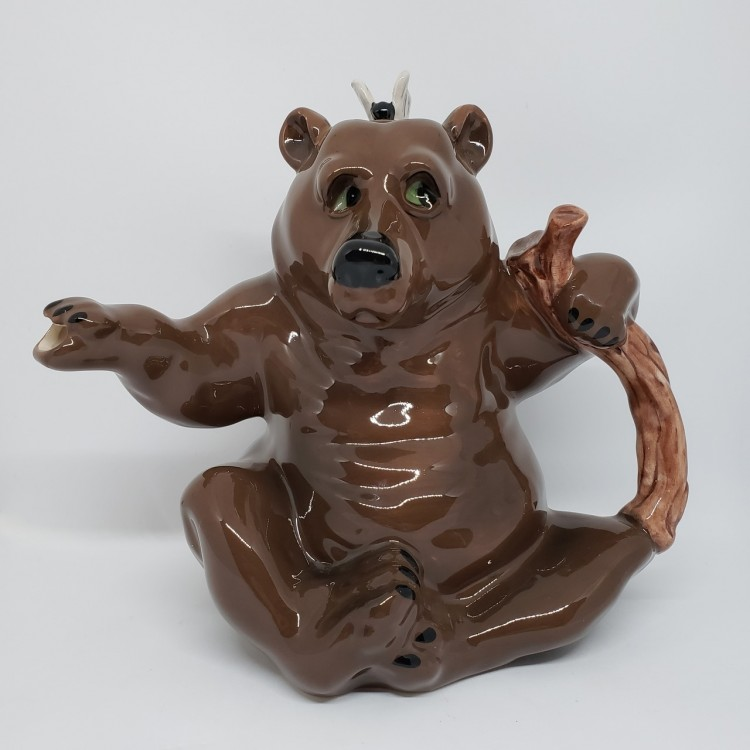 Bule chá urso marrom - Imagem: 1