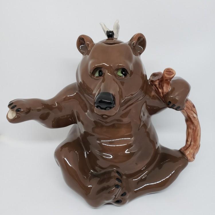 Bule chá urso marrom - Imagem: 2