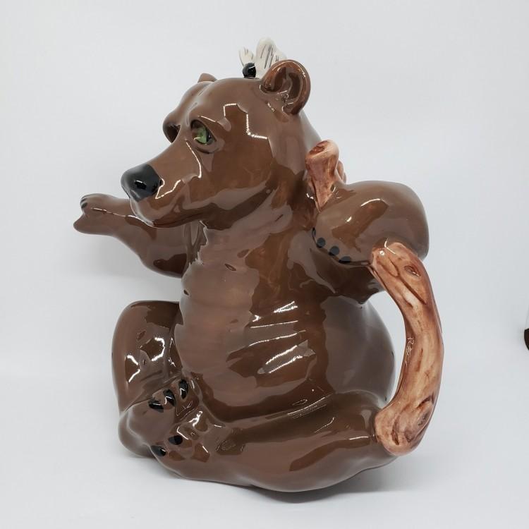 Bule chá urso marrom - Imagem: 3